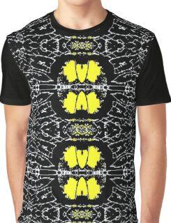Yellow Mirror Graphic T-Shirt