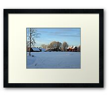 An afternoon in the country Framed Print