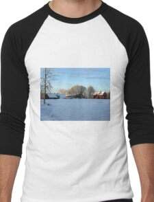 An afternoon in the country Men's Baseball ¾ T-Shirt