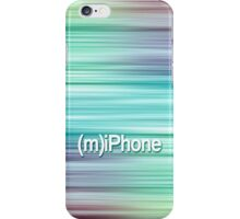 Blue Linear Design iPhone Case/Skin