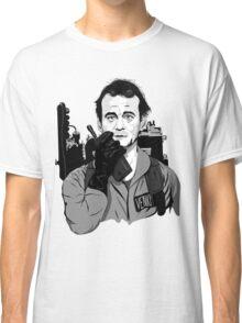 Ghostbusters Peter Venkman Bill Murray illustration Classic T-Shirt