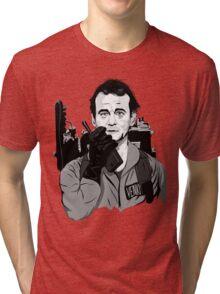 Ghostbusters Peter Venkman Bill Murray illustration Tri-blend T-Shirt