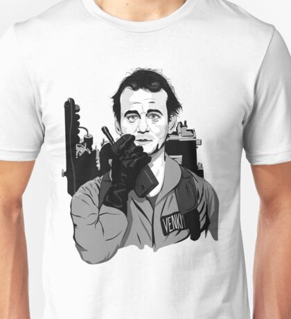 Ghostbusters Peter Venkman Bill Murray illustration Unisex T-Shirt