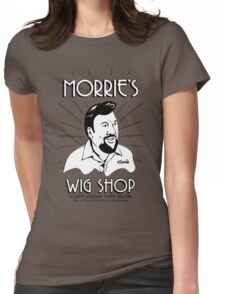 Goodfellas, Morrie's Wigs Shop Sign T-shirt  Womens Fitted T-Shirt