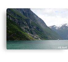 Power of the glaciers Metal Print