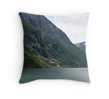 Power of the glaciers Throw Pillow