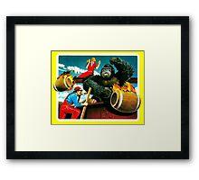 KONG - atari Framed Print