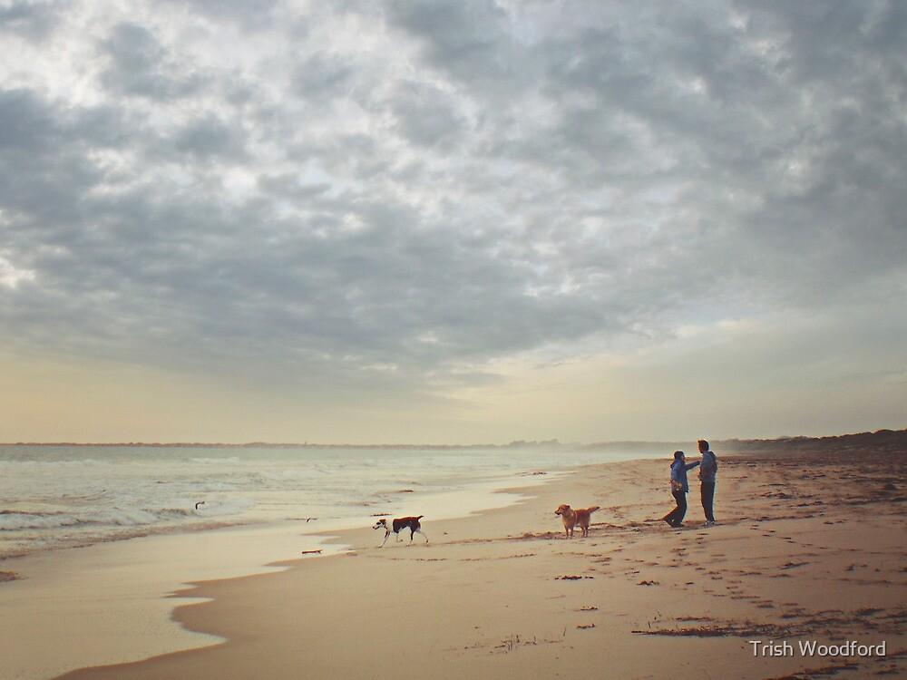 Days End II..... by Trish Woodford
