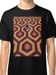 The Shining Screen Print Movie Poster  Classic T-Shirt