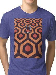 The Shining Screen Print Movie Poster  Tri-blend T-Shirt