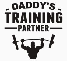 Daddy's Training Partner One Piece - Short Sleeve