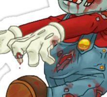 zombie mario Sticker