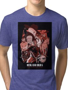 metal gear Tri-blend T-Shirt
