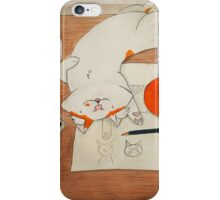 Trying to work... iPhone Case/Skin