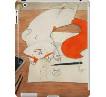 Trying to work... iPad Case/Skin