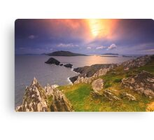 Blasket Island Sunset Canvas Print