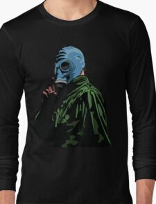 Dead Man's Shoes Comic Style Illustration Long Sleeve T-Shirt