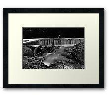 A long creek Framed Print