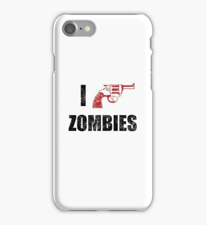 I Shotgun Zombies/ I Heart Zombies  iPhone Case/Skin