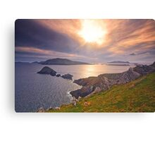 Blasket Island Sunset  2 Canvas Print