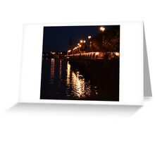 Shinning Night  Greeting Card