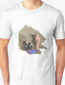 she is built  T-Shirt