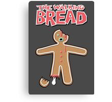 The Walking Dead GingerBread Man Zombies  Canvas Print