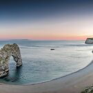 ∞ Durdle Door Panorama ∞ by Jonathan Stacey