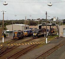 Loco Workshop - Portland Victoria, Australia by log0008
