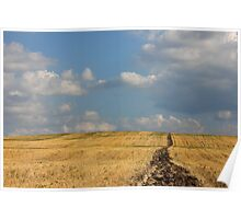 Rural Landscape in the Country Poster