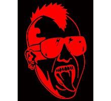 Punk Face Photographic Print