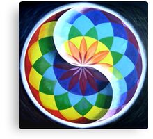 LIGHTWORKER REFLECTIONS PAINTING Canvas Print