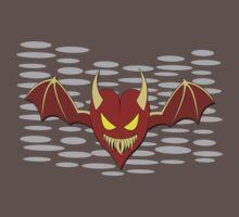 A devilish little heart by Karuik