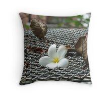 The Fallen Flower Throw Pillow
