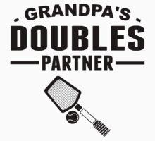 Grandpa's Doubles Partner Kids Tee