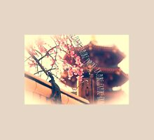 Explore Plum Blossoms Pagoda Bamboo Fence Unisex T-Shirt