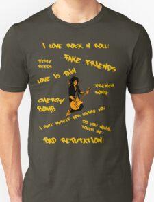 Joan Jett - Song Titles T-Shirt