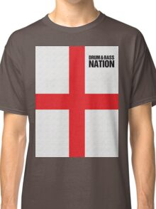 DRUM AND BASS NATION Classic T-Shirt