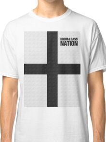 DRUM AND BASS NATION (BLACK) Classic T-Shirt