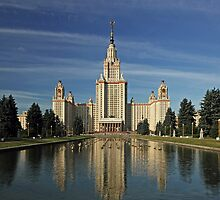 Moscow State University by Irina Chuckowree