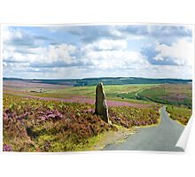 The North Yorkshire Moors Poster
