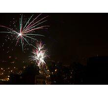 Happy New Year - Cuenca - Ecuador Photographic Print