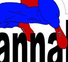 wannabe superhero 1 Sticker