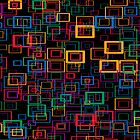 Colorful Squares by RosiLorz