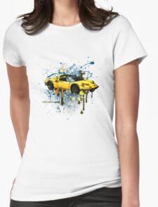 Ferrari Dino 246 GTS Womens Fitted T-Shirt