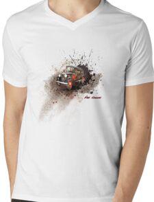 Fiat Classic Mens V-Neck T-Shirt