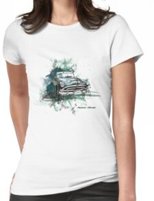 Hudson Hornet Womens Fitted T-Shirt