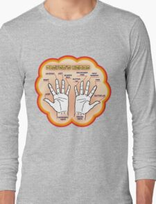 The player's hands. Long Sleeve T-Shirt