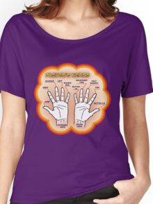 The player's hands. Women's Relaxed Fit T-Shirt