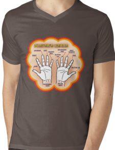 The player's hands. Mens V-Neck T-Shirt